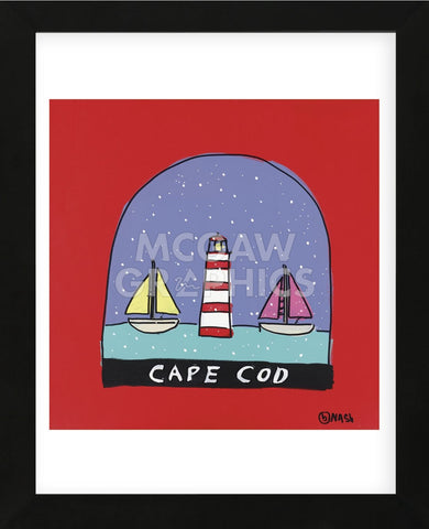 Cape Cod Snow Globe (Framed) -  Brian Nash - McGaw Graphics