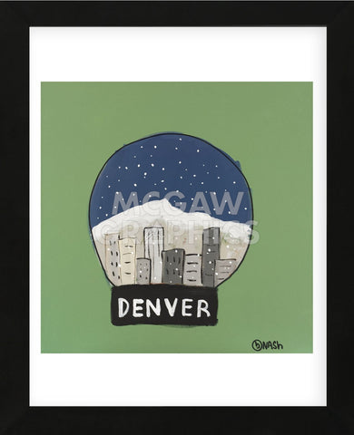 Brian Nash - Denver Snow Globe