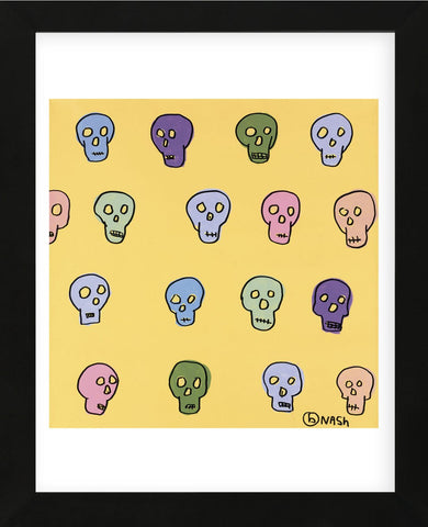 Skulls (Framed) -  Brian Nash - McGaw Graphics