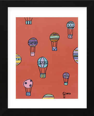 Balloons - Red (Framed) -  Brian Nash - McGaw Graphics