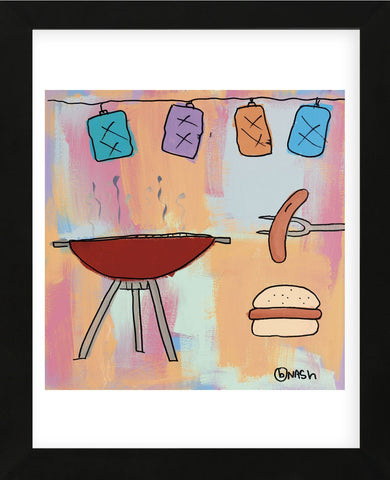 BBQ! (Framed) -  Brian Nash - McGaw Graphics