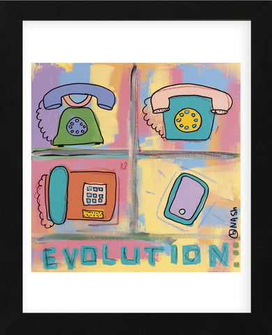 Evolution - Phone (Framed) -  Brian Nash - McGaw Graphics