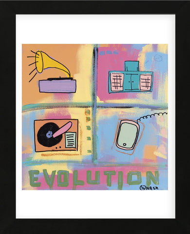 Evolution - Stereo (Framed) -  Brian Nash - McGaw Graphics