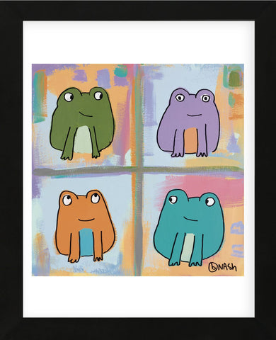 Frogs (Framed) -  Brian Nash - McGaw Graphics