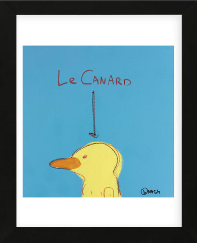Le Canard (Framed) -  Brian Nash - McGaw Graphics