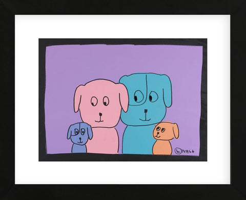 Family Portrait (Framed) -  Brian Nash - McGaw Graphics