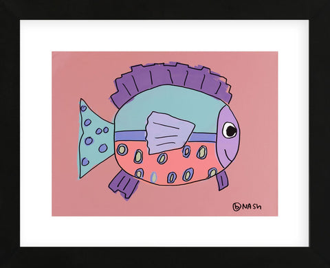 Fish 1 (Framed) -  Brian Nash - McGaw Graphics