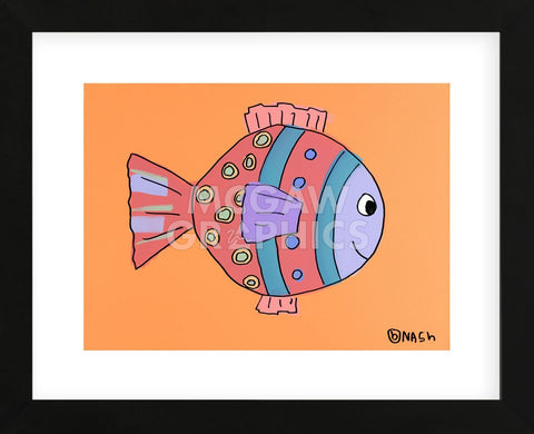 Fish II (Framed) -  Brian Nash - McGaw Graphics