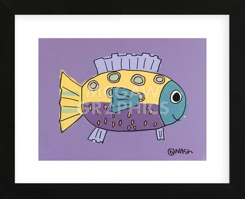 Fish III (Framed) -  Brian Nash - McGaw Graphics