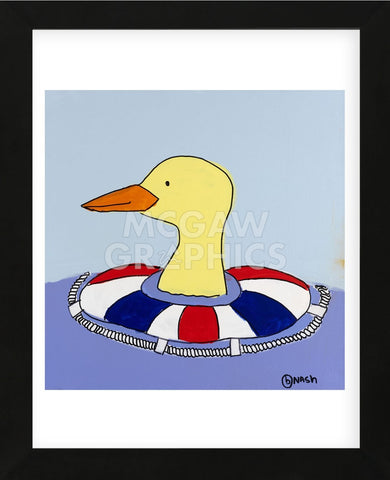 Duck (Framed) -  Brian Nash - McGaw Graphics