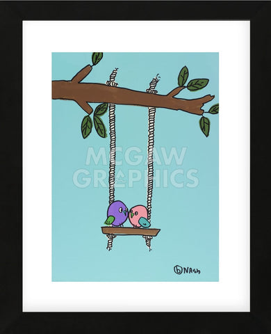 Love Birds (Framed) -  Brian Nash - McGaw Graphics