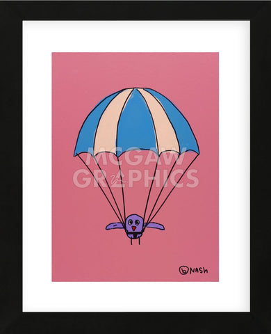 Parachute (Framed) -  Brian Nash - McGaw Graphics