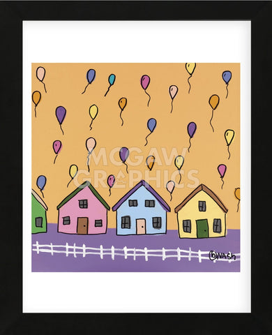 It is Balloon (Framed) -  Brian Nash - McGaw Graphics