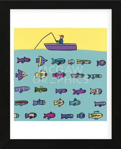 Fishin' (Framed) -  Brian Nash - McGaw Graphics