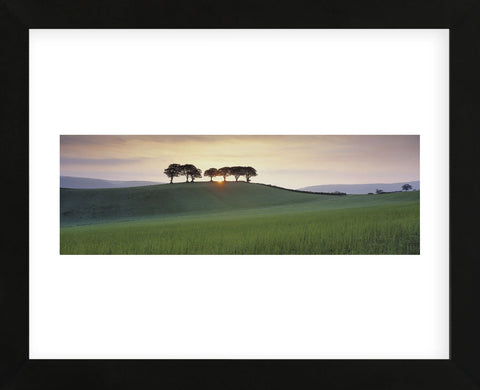 Somerset Sunrise  (Framed) -  David Noton - McGaw Graphics