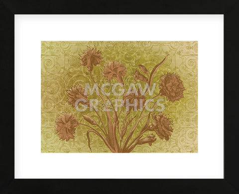 Amalia Blooms  (Framed) -  Mali Nave - McGaw Graphics