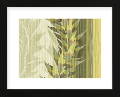 Water Leaves I  (Framed) -  Mali Nave - McGaw Graphics