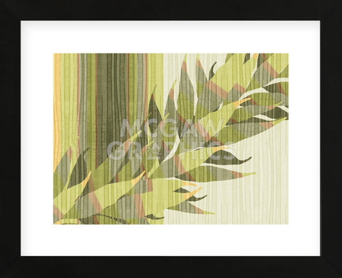 Water Leaves II  (Framed) -  Mali Nave - McGaw Graphics