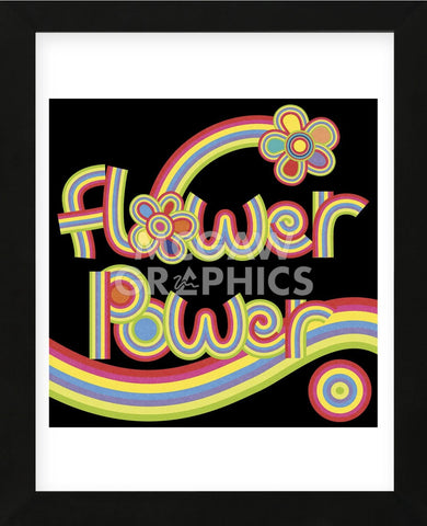 Flower Power  (Framed) -  Mali Nave - McGaw Graphics