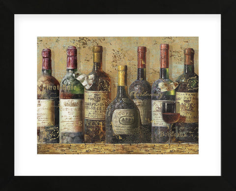 Wine Collection I (Framed) -  NBL Studio - McGaw Graphics