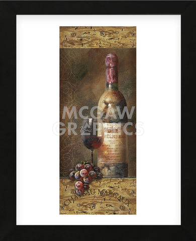Wine Collection II (Framed) -  NBL Studio - McGaw Graphics
