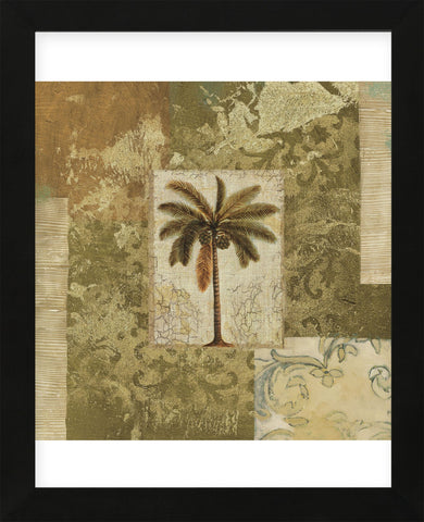 Palm Patchwork I (Framed) -  NBL Studio - McGaw Graphics