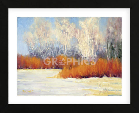 Bright Winter Day  (Framed) -  Bunny Oliver - McGaw Graphics