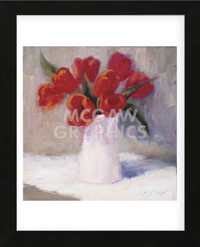 Red Tulips  (Framed) -  Bunny Oliver - McGaw Graphics