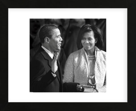I, Barack Hussein Obama... (Framed) -  Celebrity Photography - McGaw Graphics