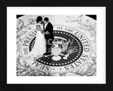 President Obama and The First Lady (b/w) (Framed) -  Celebrity Photography - McGaw Graphics