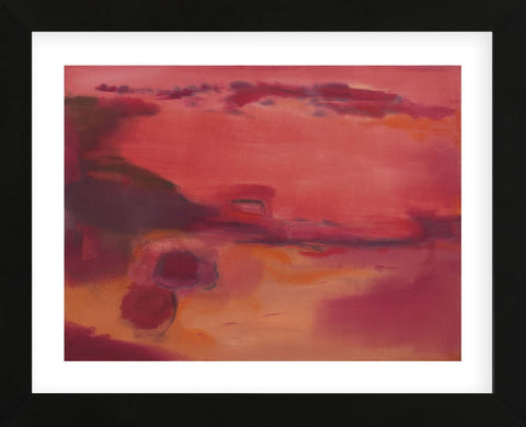 Adrift in Red (Framed) -  Nancy Ortenstone - McGaw Graphics