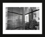 Reflected Cityscape  (Framed) -  Christian Peacock - McGaw Graphics