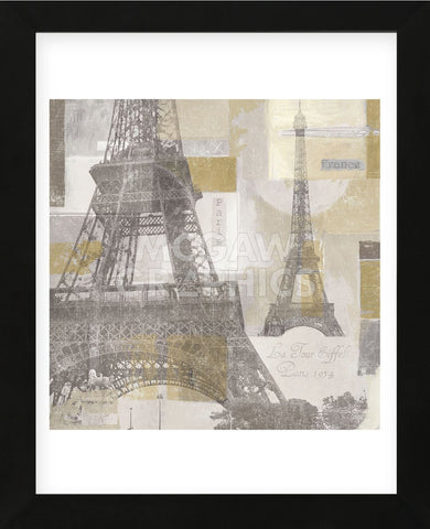Eiffel Tower III (Framed) -  Pela + Silverman - McGaw Graphics