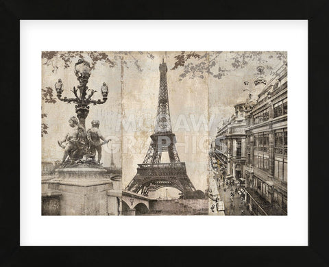 Paris (Framed) -  Pela + Silverman - McGaw Graphics