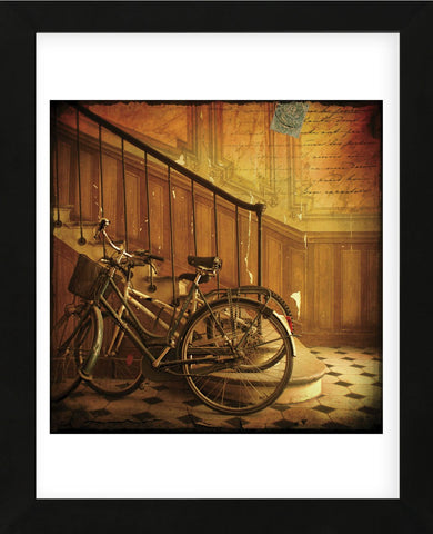 Bikes in Paris, France (Framed) -  Dawne Polis - McGaw Graphics