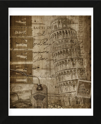 Italian Collage (Framed) -  Dawne Polis - McGaw Graphics