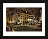 Paris Street Night (Framed) -  Dawne Polis - McGaw Graphics