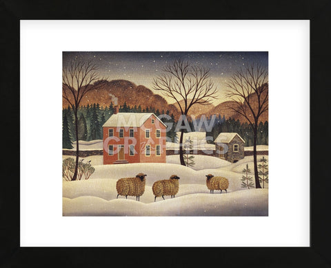Diane Ulmer Pedersen - Winter Sheep II