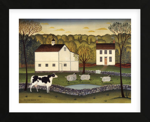 White Farm (Framed) -  Diane Ulmer Pedersen - McGaw Graphics