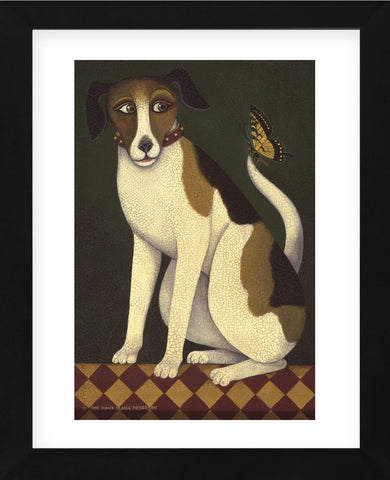 Temptation II (Dog) (Framed) -  Diane Ulmer Pedersen - McGaw Graphics