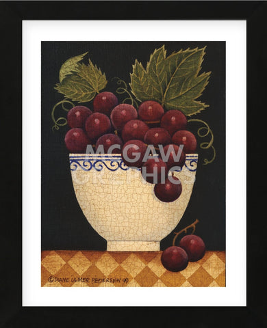 Cup O Grapes (Framed) -  Diane Ulmer Pedersen - McGaw Graphics