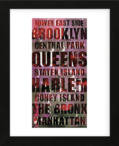Explore New York (Framed) -  Sven Pfrommer - McGaw Graphics