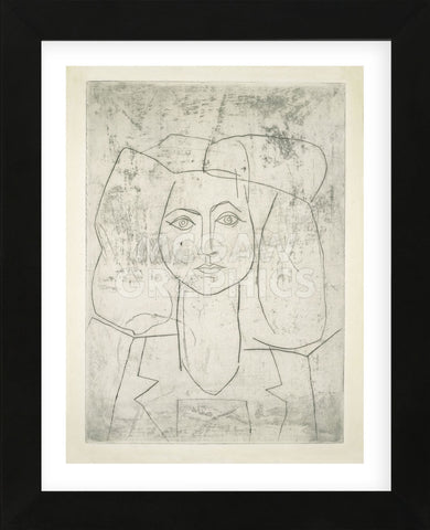 Pablo Picasso - Portrait of Francoise, dressed...