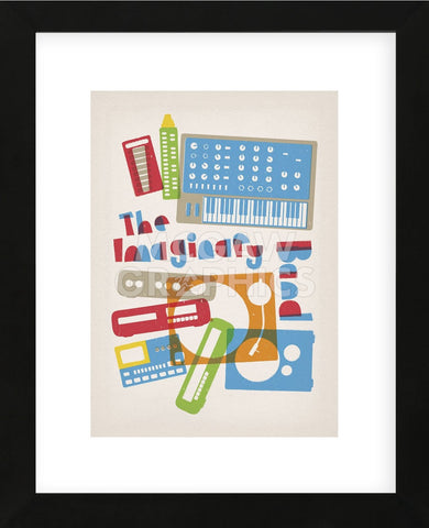 The Imaginary Band (Framed) -  Anthony Peters - McGaw Graphics