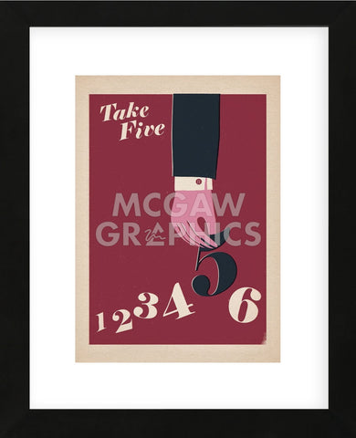 Take Five (Framed) -  Anthony Peters - McGaw Graphics