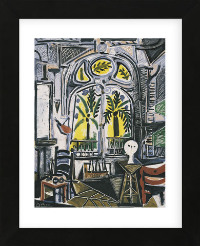The Studio, 1955 (Framed) -  Pablo Picasso - McGaw Graphics