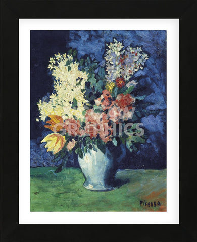 Flowers, 1901 (Framed) -  Pablo Picasso - McGaw Graphics
