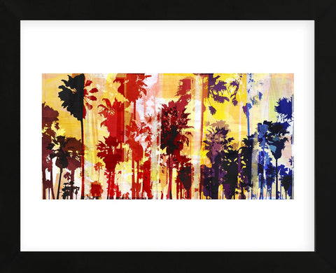 Sunset and Palms 1 (Framed) -  Sven Pfrommer - McGaw Graphics