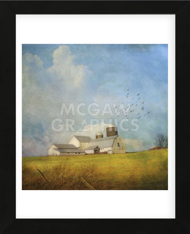 White Farm (Framed) -  Dawne Polis - McGaw Graphics