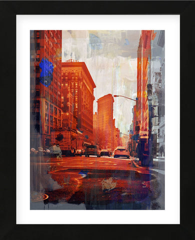 NY Downtown 14 (Framed) -  Sven Pfrommer - McGaw Graphics